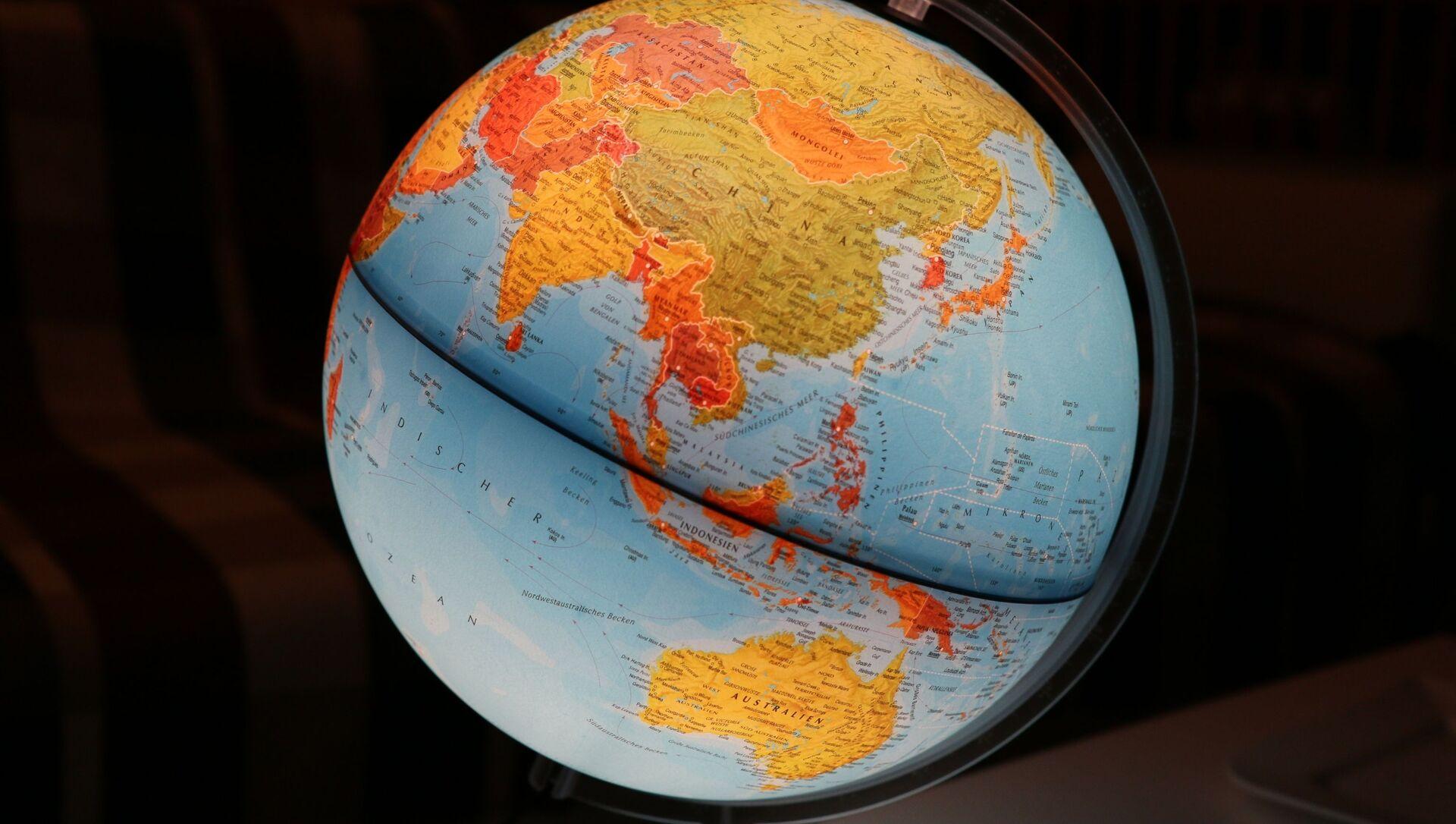 Mapa de Asia y Oceanía - Sputnik Mundo, 1920, 10.11.2020
