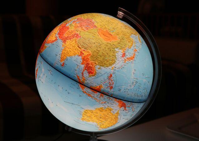 Mapa de Asia y Oceanía