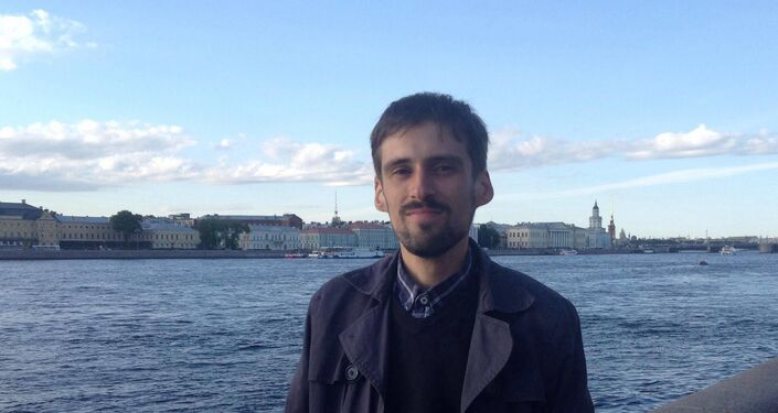 Arnau Barios en Rusia