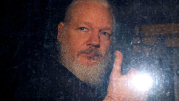 Julian Assange, fundador del portal de filtraciones WikiLeaks - Sputnik Mundo