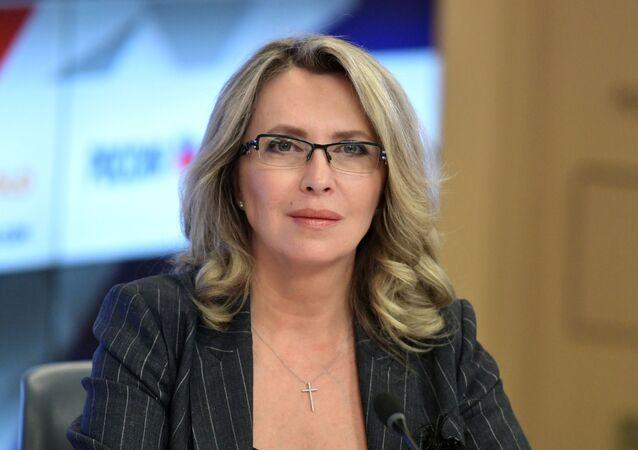 Alevtina Chérnikova, la rectora de la universidad rusa MISIS