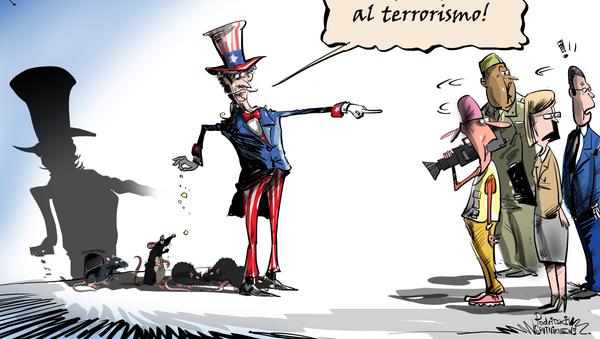 El terrorismo se convierte en la herramienta política de EEUU - Sputnik Mundo