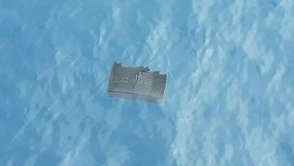 Restos del avión militar chileno Hércules C-130 hallados en el mar de Drake - Sputnik Mundo
