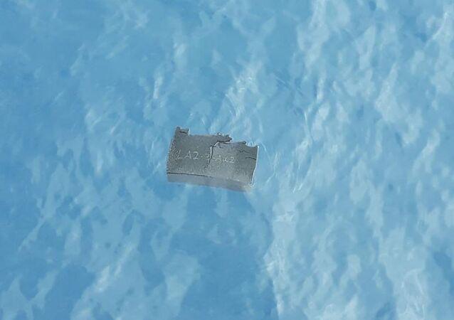 Restos del avión militar chileno Hércules C-130 hallados en el mar de Drake