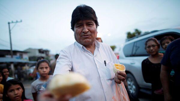 Evo Morales, depuesto presidente boliviano - Sputnik Mundo