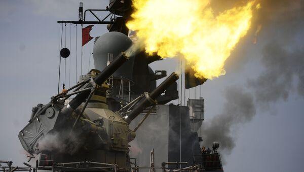Los cañones del sistema de defensa antiaérea Palash - Sputnik Mundo