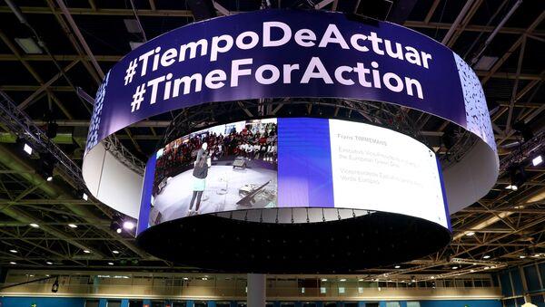 La cumbre del clima COP25 en Madrid - Sputnik Mundo