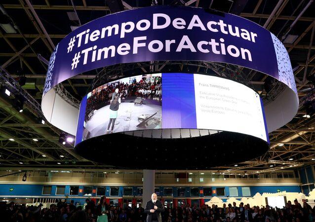 La cumbre del clima COP25 en Madrid
