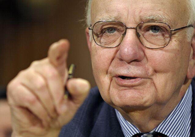 Paul Volcker, expresidente del banco central de EEUU
