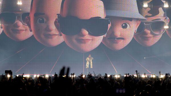 Daddy Yankee en un concierto en Puerto Rico - Sputnik Mundo