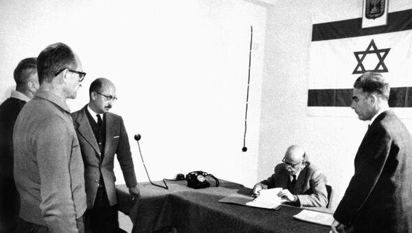 Adolf Eichmann en Israel - Sputnik Mundo