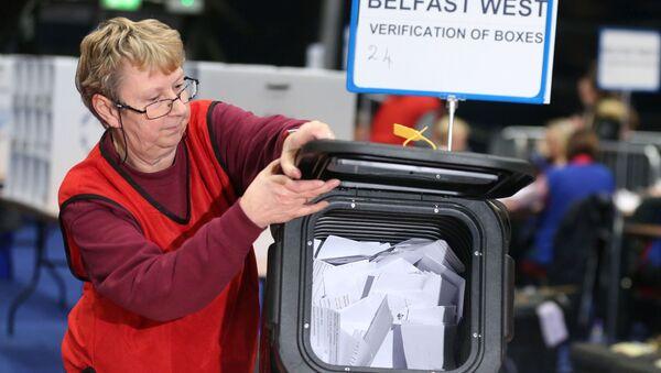 Elecciones del 12 de diciembre en Belfast, Irlanda del Norte - Sputnik Mundo
