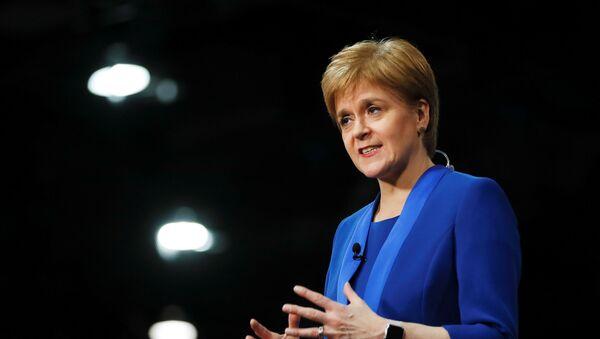 Nicola Sturgeon, la líder nacionalista y ministra principal de Escocia,  - Sputnik Mundo