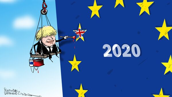 El Reino Unido se pinta un futuro fuera de la Unión Europea - Sputnik Mundo