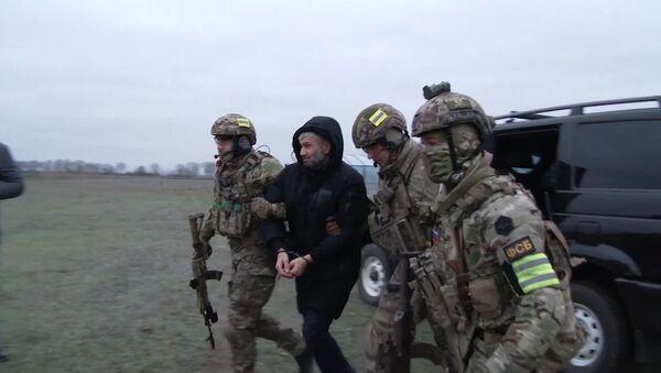 Los agentes del Servicio Federal de Seguridad ruso durante una operación (archivo) - Sputnik Mundo