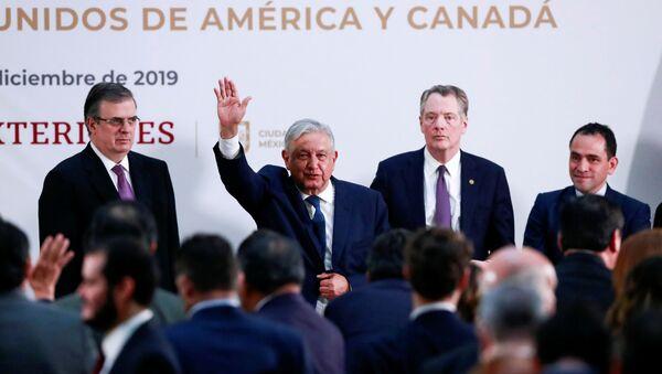 El presidente de México, Manuel López Obrador  - Sputnik Mundo