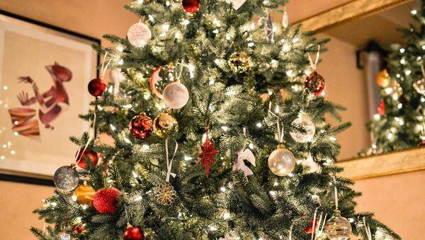 Un árbol de navidad, referencial - Sputnik Mundo