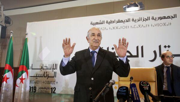 Presidente electo de Argelia, Abdelmadjid Tebboune - Sputnik Mundo