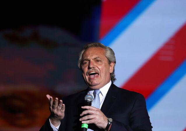 Alberto Fernández, el presidente de Argentina