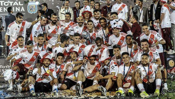 River Plate, ganadores de la Copa Argentina - Sputnik Mundo