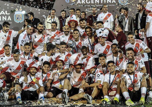 River Plate, ganadores de la Copa Argentina