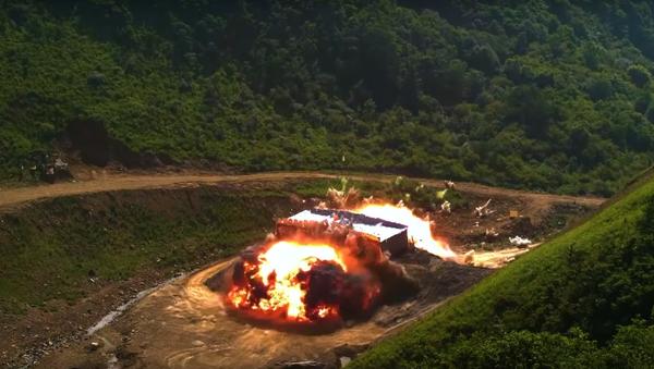 Captura de pantalla de un vídeo promocional de la Fuerza Aérea de Corea del Sur - Sputnik Mundo