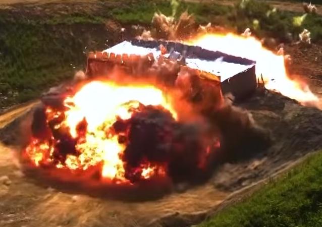 Captura de pantalla de un vídeo promocional de la Fuerza Aérea de Corea del Sur