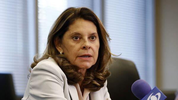 Marta Lucía Ramírez, vicepresidenta de Colombia - Sputnik Mundo