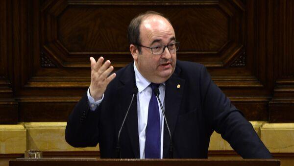 Miquel Iceta, primer secretario del PSC - Sputnik Mundo