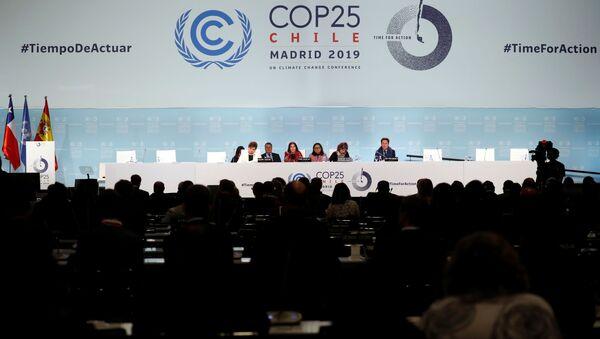 La cumbre COP25 en Madrid - Sputnik Mundo