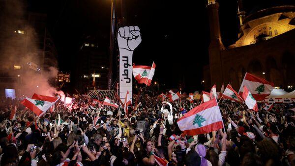 Protestas en Líbano (Archivo) - Sputnik Mundo