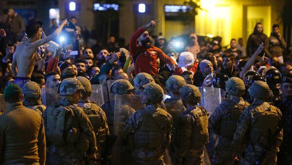 Protestas en Beirut (Archivo) - Sputnik Mundo