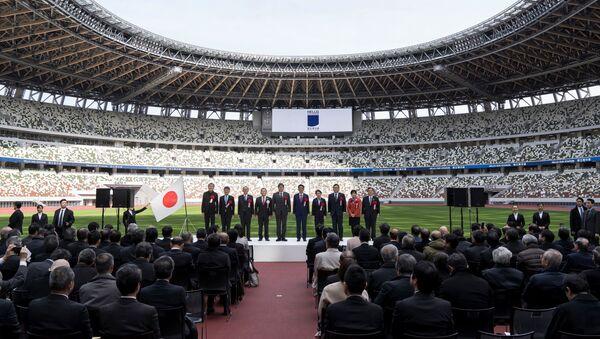 Inauguración del nuevo Estadio Nacional en Tokio - Sputnik Mundo