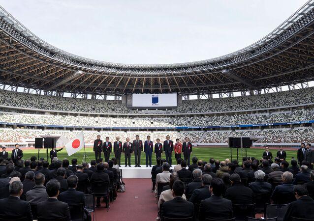 Inauguración del nuevo Estadio Nacional en Tokio
