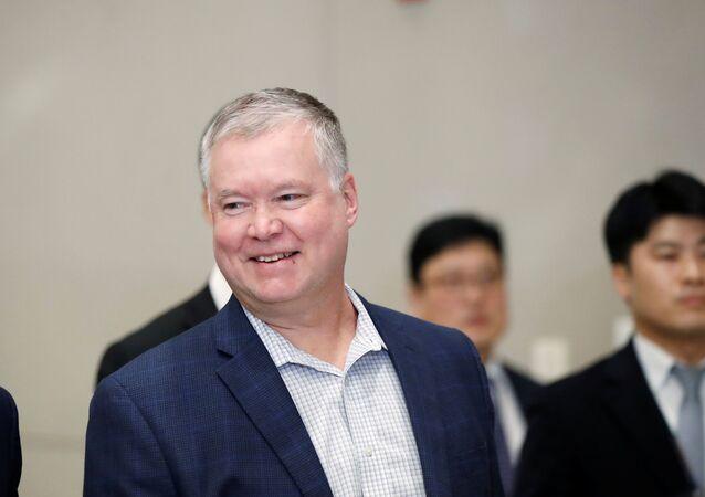 Stephen Biegun, enviado especial de Estados Unidos para Corea del Norte