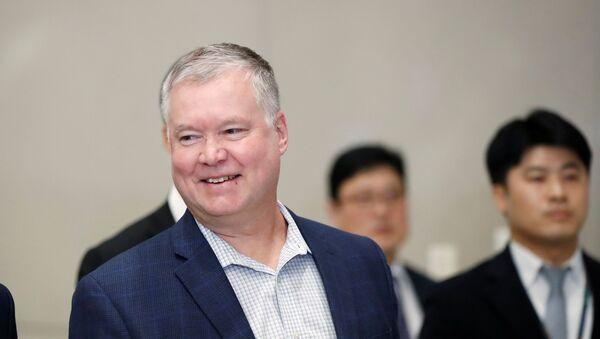 Stephen Biegun, enviado especial de Estados Unidos para Corea del Norte - Sputnik Mundo