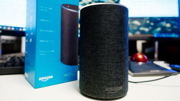 El altavoz inteligente Echo de Amazon - Sputnik Mundo
