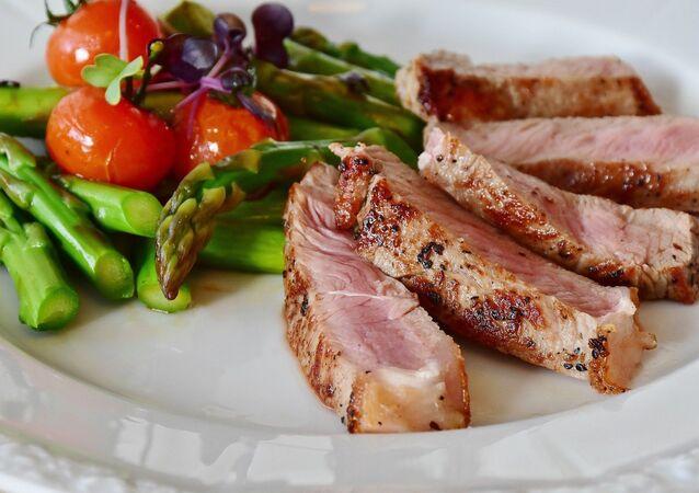 Carne y verduras