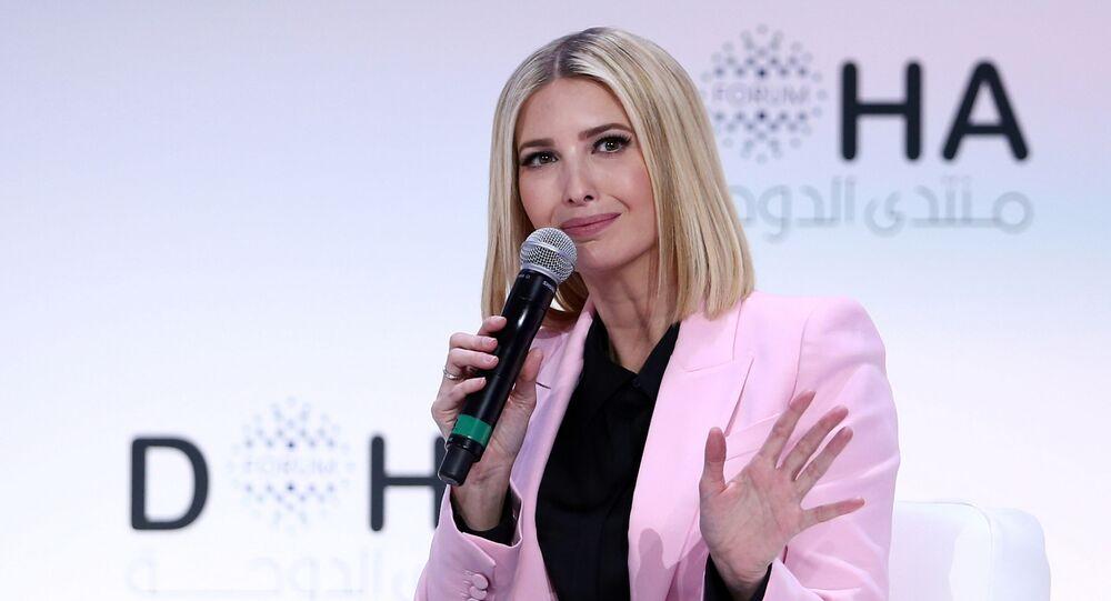 Ivanka Trump, asesora y hija del presidente de Estados Unidos, en el Foro de Doha