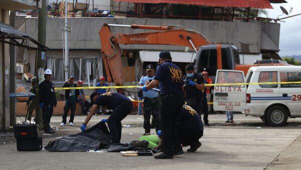Las consecuencias del terremoto en Padada, Filipinas - Sputnik Mundo