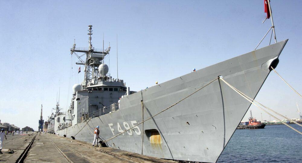 Un buque turco (archivo)