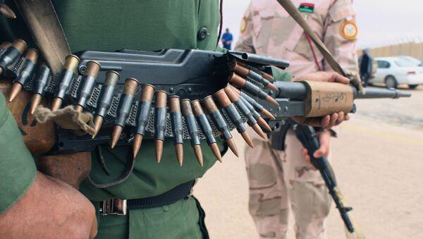 Un militar libio (archivo) - Sputnik Mundo