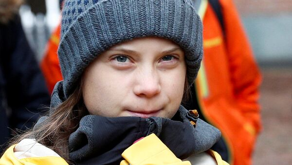 Greta Thunberg, activista sueca - Sputnik Mundo