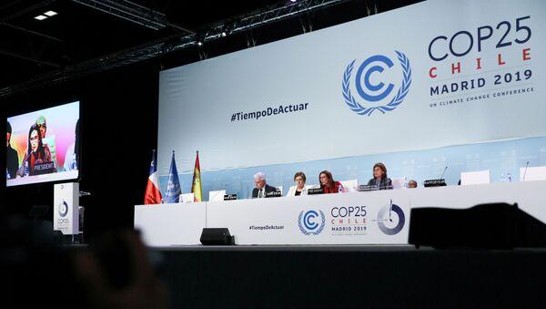La cumbre del clima (COP25), celebrada en Madrid - Sputnik Mundo