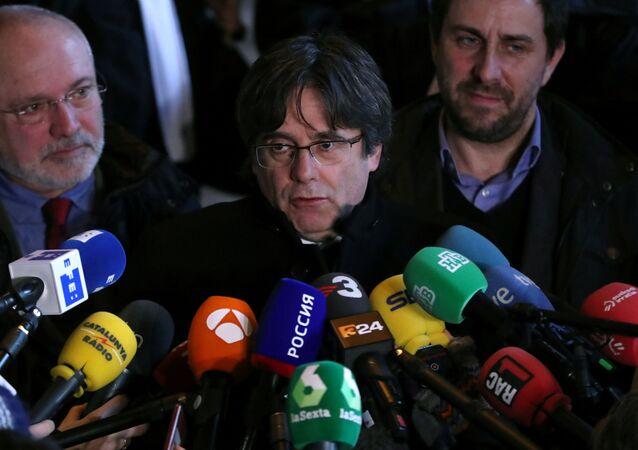 Carles Puigdemont, expresidente catalán