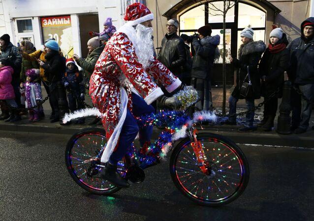 El Papá Noel ruso (imagen referencial)