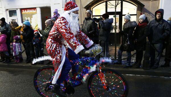 El Papá Noel ruso (imagen referencial) - Sputnik Mundo