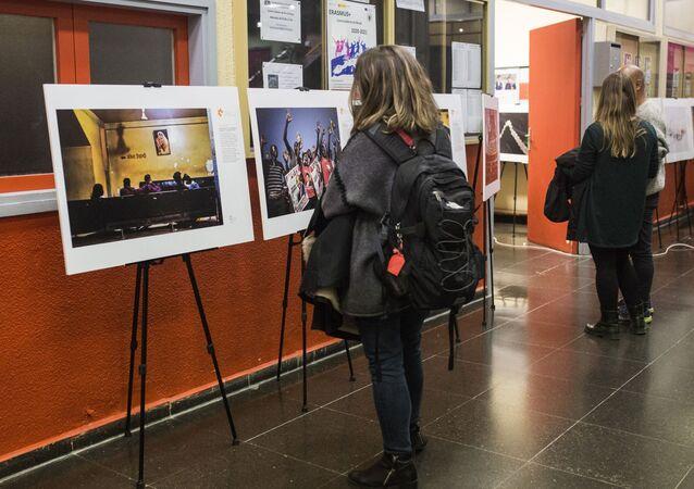 La exposición del concurso Andréi Stenin (archivo)