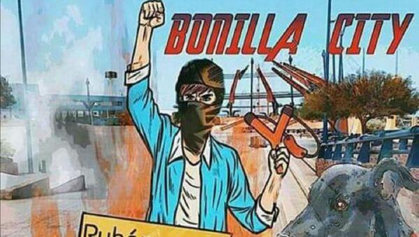 Pintura de Chalaman, uno de los símbolos de las manifestaciones en Chile - Sputnik Mundo