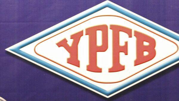 Logo de YPFB - Sputnik Mundo